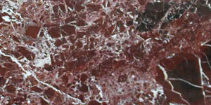 Rosso Levanto Red Brown Italian Marble Sample 300x150