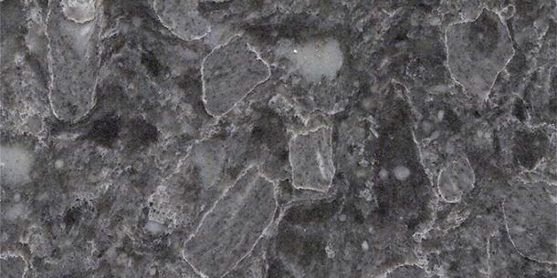 Unistone Squalo Grey Quartz Breccia 610x305