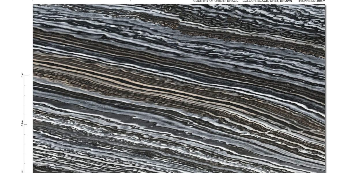 Nero Fantasy Exotic Brazilian Quartzite Full Slab 2400x1200 (1)