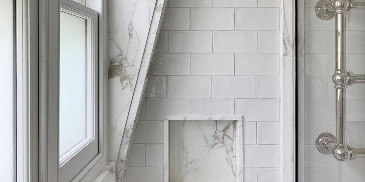 Calacatta Oro Marble Bathroom 1366x683