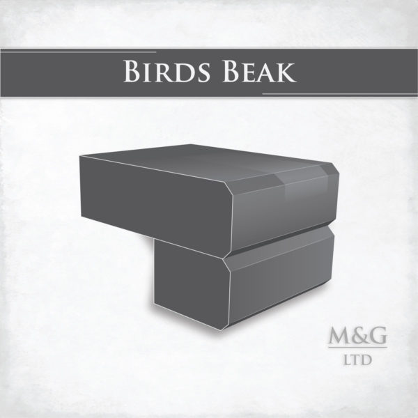 Birds Beak Edge Profile Worktop Edge Marble And Granite Ltd