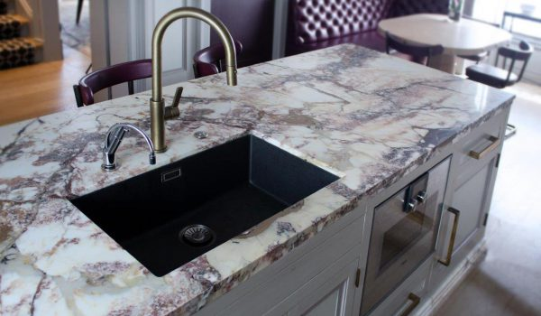 Breccia Capraia Marble Kitchen Worktop Supplied And Installed By Marble And Granite Ltd Optimised 1