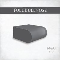 Full Bullnose Edge Profile Worktop Edge Marble And Granite Ltd
