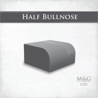 Half Bullnose Edge Profile Worktop Edge Marble And Granite Ltd