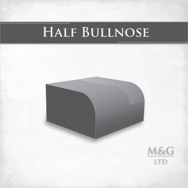 Half Bullnose Edge Profile Worktop Edge Marble And Granite Ltd