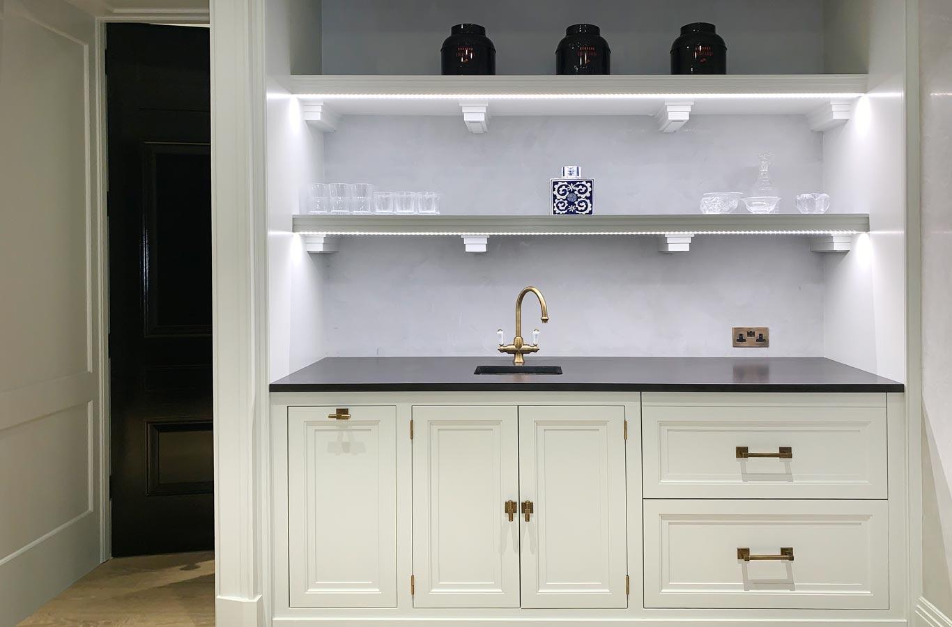 Honed Nero Assoluto Kitchen Worktop