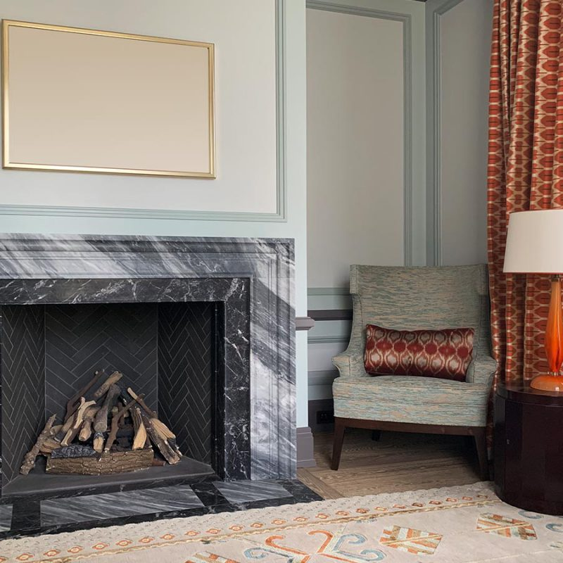 Marble Fireplace In Reception Room 2