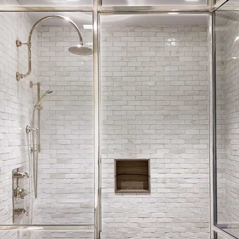 Metro Tiles And Marble Shower