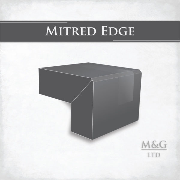 Mitred Edge Profile Worktop Edge Marble And Granite Ltd