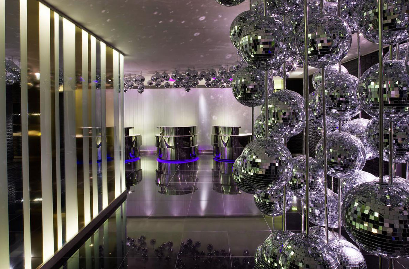 The W Hotel Lift Lobby Polished Granite Tiles By Marble And Granite Ltd 2