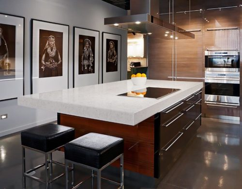 Kitchen Worktops Made Of Engineered Stone