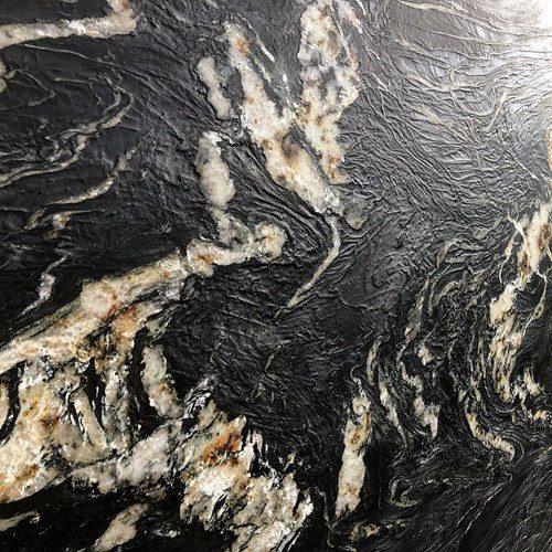 Belvedere Granite Leather Finish