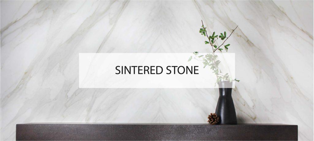 Bookmatched Calacatta Oro Sintered Stone Neolith Splashback Kitchen Worktop