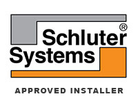 Marble and Granite Ltd is Approved Schluter Systems Installer