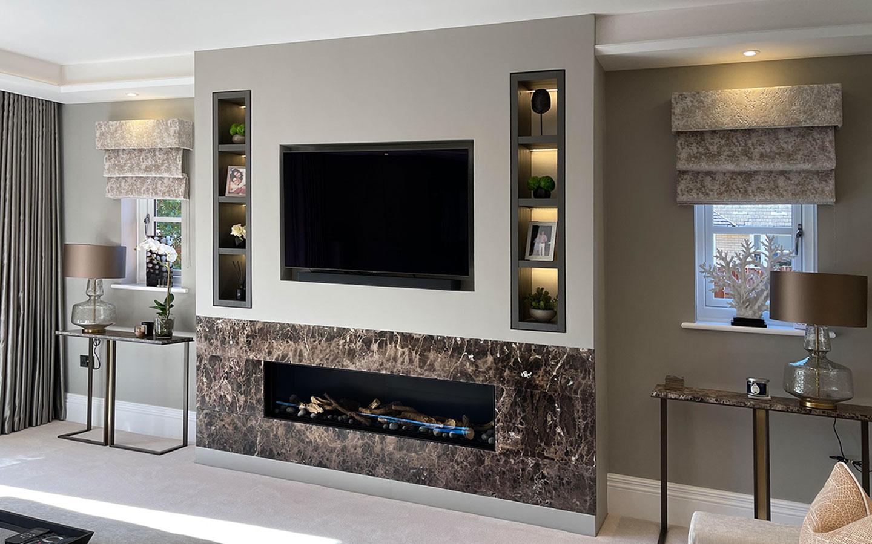 Contemporary-Fireplace-Surround-Emperador-Marble