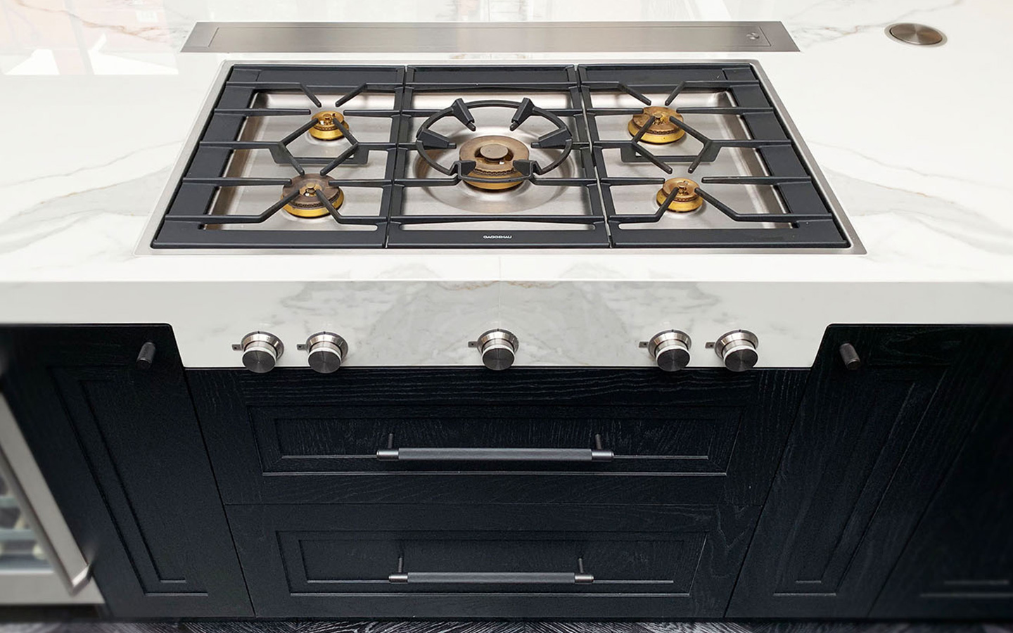 Kitchen island with sintered stone - Chelsea