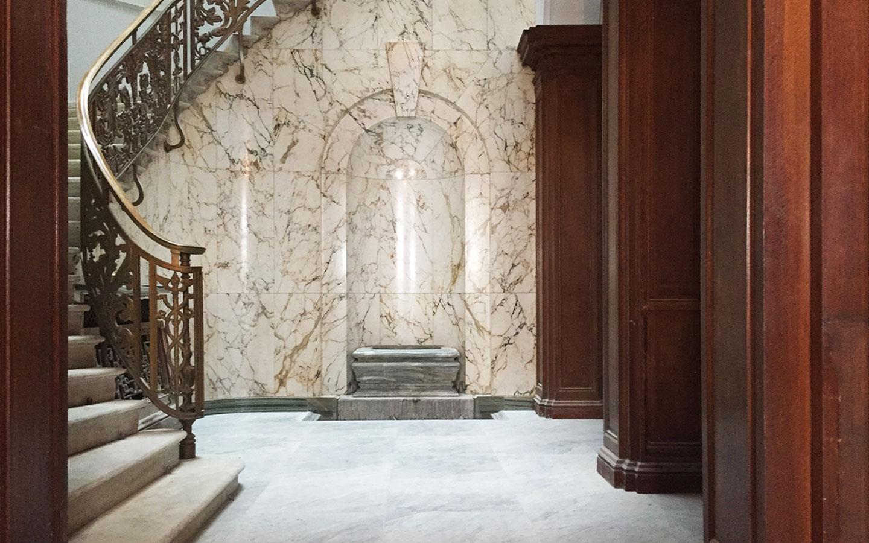 Malaysian Embassy - Honed Carrara marble tiles